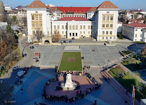 'Gr. T. Popa' University of Medicine and Pharmacy (Calimachi Palace) - Iasi, Romania