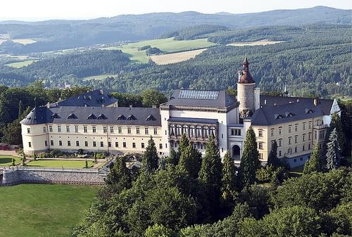 zámek Zbiroh, Czech