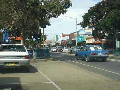 swan hill main street
