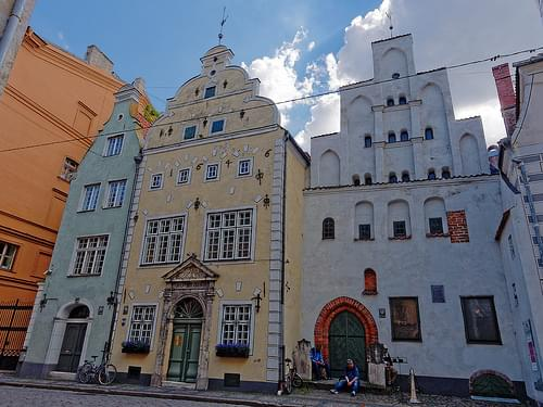 Three Brothers, Riga