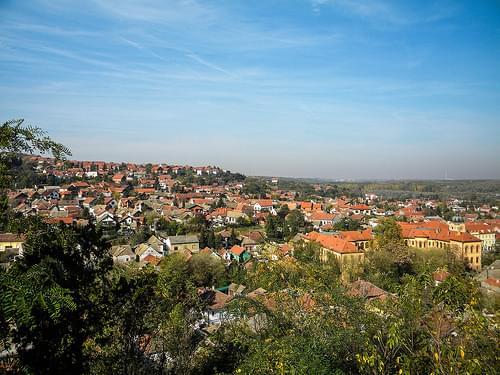 View over Sremski Karlovci