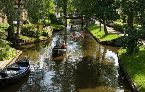 Historic Center, Giethoorn