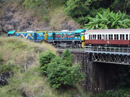Kuranda train trip. Cairns Queensland.
