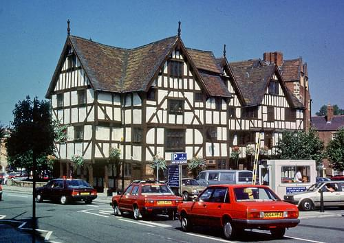 Rowley's House, Shrewsbury