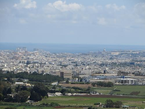 View from Mdina
