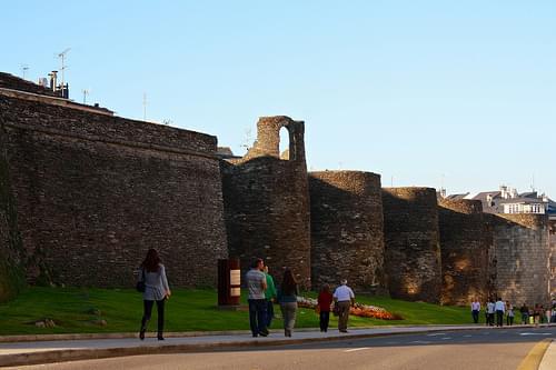 Roman walls / Murallas romanas, Lugo