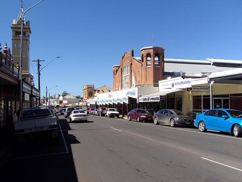 Main Street. Charters Towers.