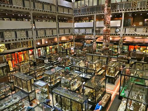 Pitt Rivers Museum, Oxford, England