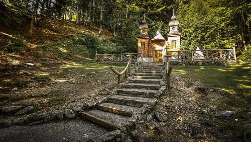 Russian Chapel - Vrsic Pass, Slovenia