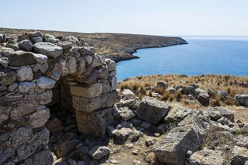 Templo de Poseidón en Tenaro