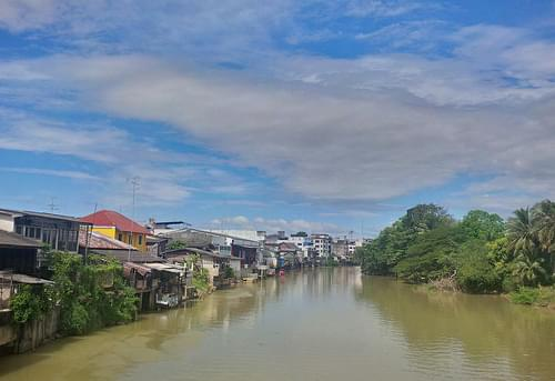 Chanthaburi river