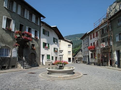 Historic Center, Martigny