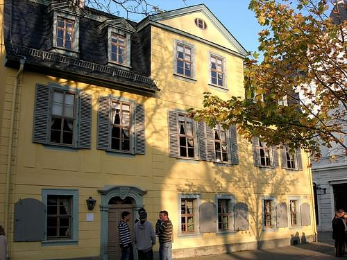 Wohnhaus Friedrich Schiller Weimar (c) AugustusTours