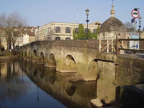 the lovely bridge at bradford on avon