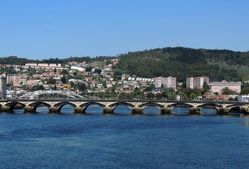 3918-Ponte de Santiago en Pontevedra.