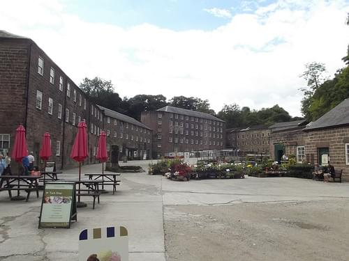 Sir Richard Arkwright's Cromford Mills - Warehousing & Five Storey Building