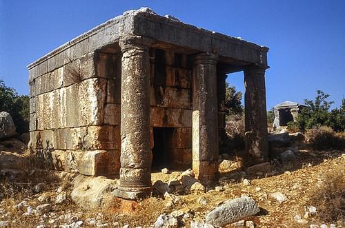 Nécropole près de Silifke