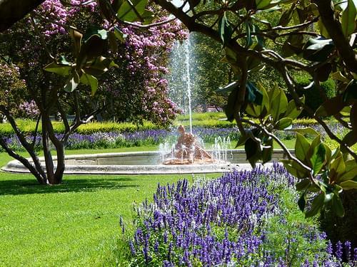 Fuente de la Nereida - Jardines de Aranjuez