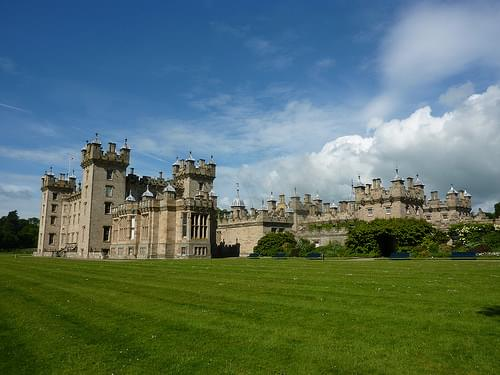 Floors Castle, home of the Duke and Duchess of Roxburghe