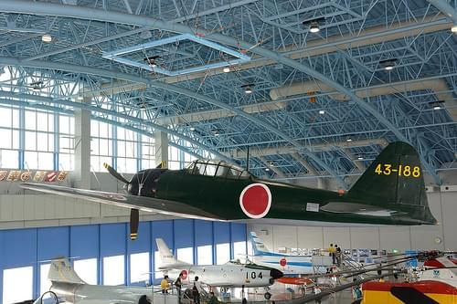 A6M5a on display