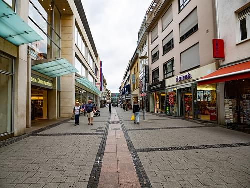 Pedestian Mall, Kaiserslautern Germany
