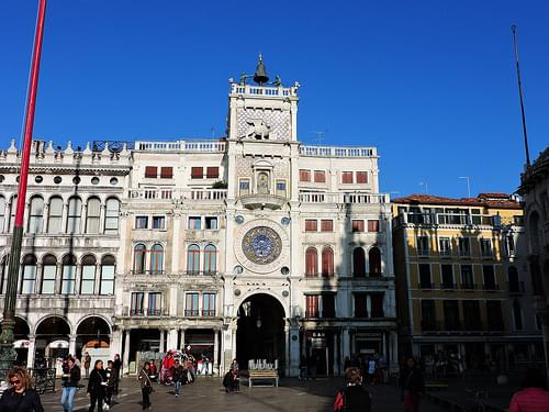 St. Mark's Clocktower (Torre dell'orologio), Piazza San Marco, Venice