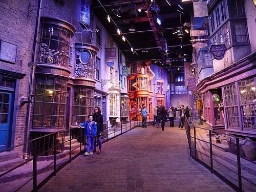 Harry Potter Warner Bros Studio Tour!