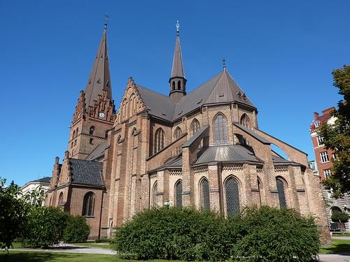 The lovely Saint Peter's Church (Sankt Petri kyrka)