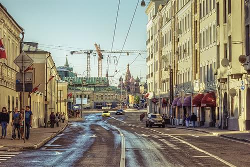 Driffting Moscow