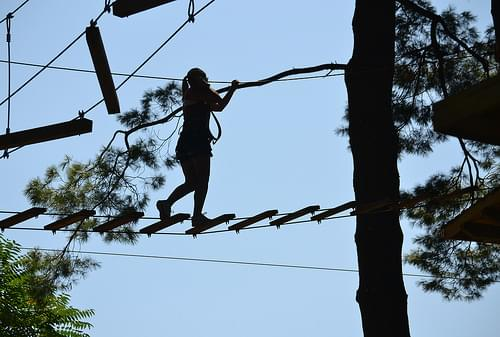 High Rope Walking