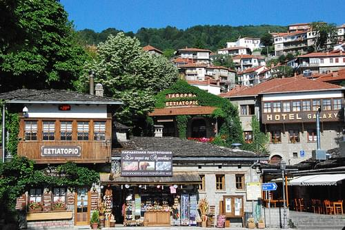Metsovo, a town in Epirus