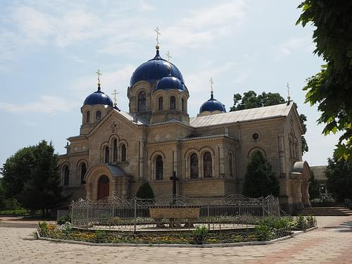 Noul Neamts monastery is located 5 km from Tiraspol city in the village of Chitcani.