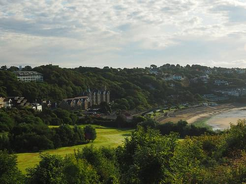 A view from Langland Bay Golf course 22nd Aug 2014 (4)