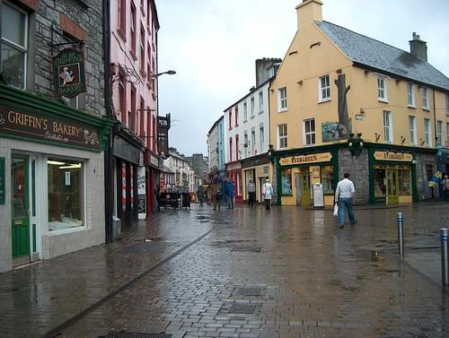 Looking Down Quay Street