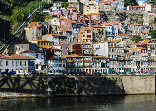 At Porto - North Bank of River Douro