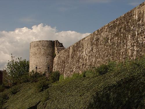 Binche - L'enceinte médiévale