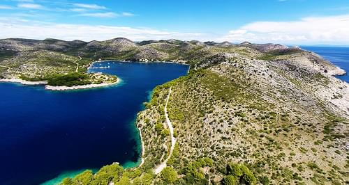 Beautiful bay on Lastovo, Croatia-2