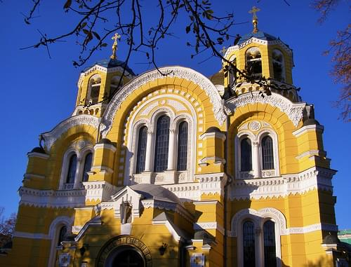 St.  Volodymyr's Cathedral in Kiev, Ukraine