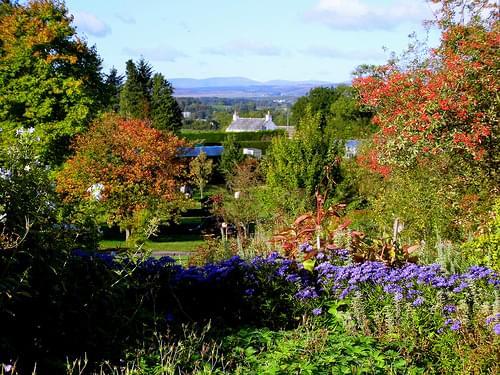 Threave Gardens, Castle Douglas, Scotland, October