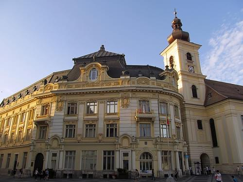 Sibiu / Hermannstadt / Nagyszeben, Transylvania