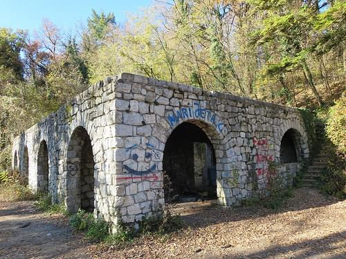 Villa Rebar - burned down and abandoned mansion with secret tunnels, Zagreb (2)