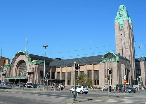 Central Railway Station, Helsinki