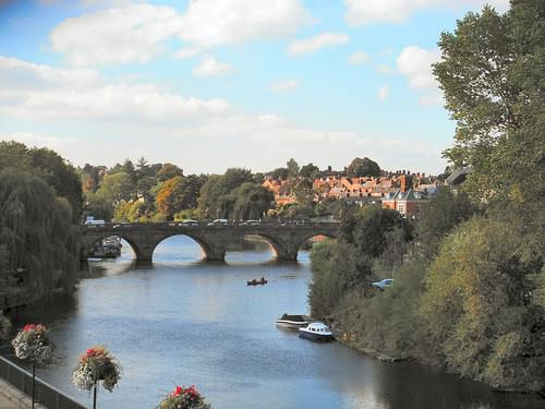 Welsh Bridge. Shrewsbury