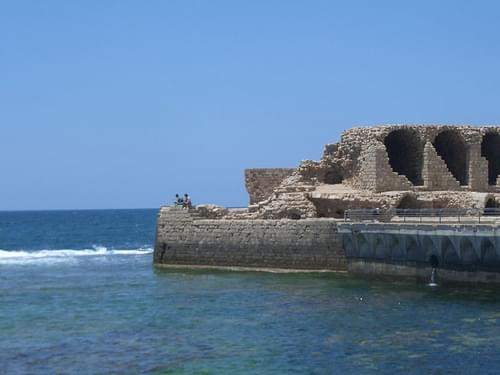 Citadel and Hospitaller Refectory, Acre