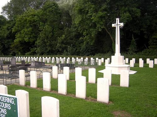 Belgian Military Cemetery of De Panne