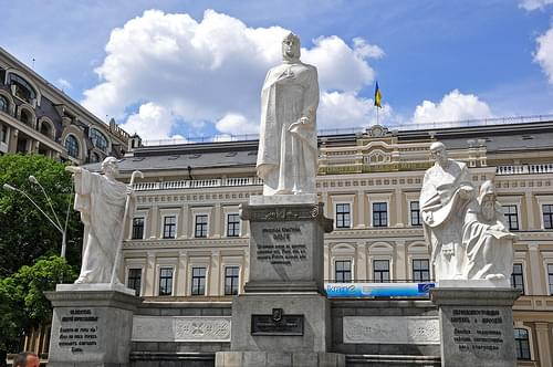 monument to Princess Olga of Kiev