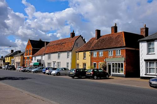 Historic Center, Long Melford