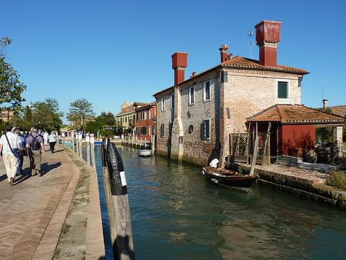 Torcello near basilica