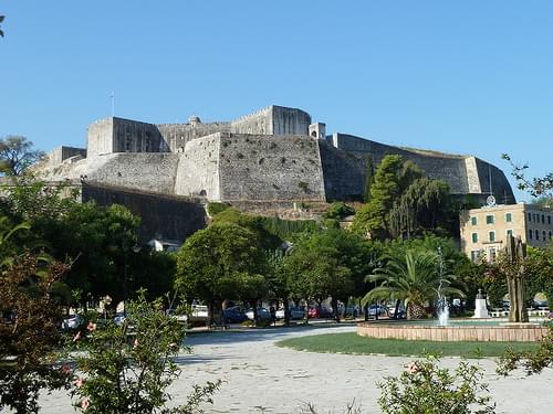 The New Fortress, Corfu
