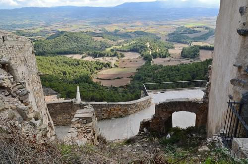 Restes del Castell de Forès, Conca de Barberà